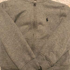 Ralph Lauren Cotton-Blend Fleece Hoodie
